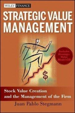 Strategic Value Management (eBook, PDF) - Stegmann, Juan Pablo