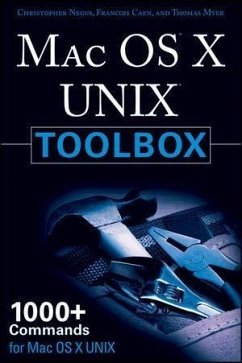 MAC OS X UNIX Toolbox (eBook, ePUB) - Negus, Christopher