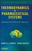 Thermodynamics of Pharmaceutical Systems (eBook, PDF)