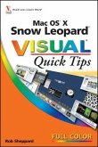 Mac OS X Snow Leopard Visual Quick Tips (eBook, PDF)