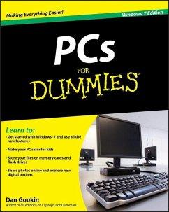PCs For Dummies, Windows 7 Edition (eBook, ePUB) - Gookin, Dan