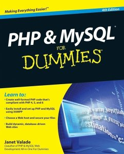 PHP and MySQL For Dummies (eBook, PDF) - Valade, Janet