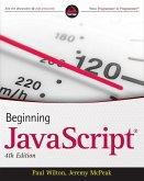 Beginning JavaScript (eBook, PDF)