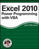Excel 2010 Power Programming with VBA (eBook, ePUB)