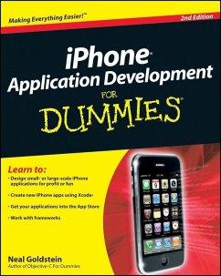 iPhone Application Development For Dummies (eBook, PDF) - Goldstein, Neal
