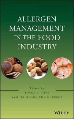 Allergen Management in the Food Industry (eBook, PDF) - Boye, Joyce I.; Godefroy, Samuel Benrejeb