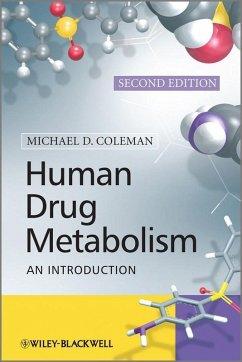 Human Drug Metabolism (eBook, PDF) - Coleman, Michael D.