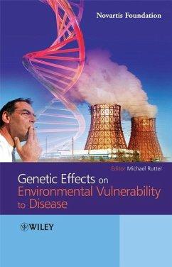 Genetic Effects on Environmental Vulnerability to Disease (eBook, PDF)