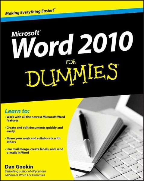 word 2010 for dummies pdf