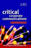 Critical Corporate Communications (eBook, PDF)
