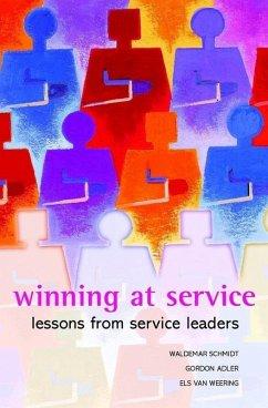 Winning at Service (eBook, PDF) - Schmidt, Waldemar; Adler, Gordon; Weering, Els Van