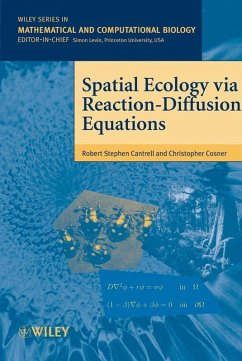 Spatial Ecology via Reaction-Diffusion Equations (eBook, PDF) - Cantrell, Stephen; Cosner, Christopher