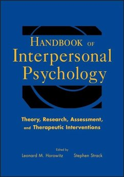 Handbook of Interpersonal Psychology (eBook, PDF)