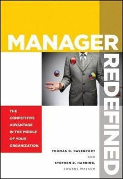 Manager Redefined (eBook, PDF) - Davenport, Thomas O.; Harding, Stephen D.