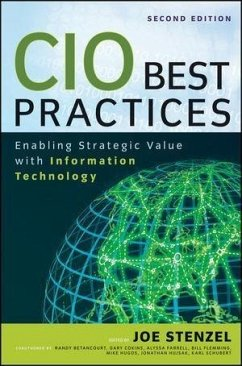 CIO Best Practices (eBook, ePUB) - Cokins, Gary; Schubert, Karl D.; Hugos, Michael H.; Betancourt, Randy; Farrell, Alyssa; Flemming, Bill; Hujsak, Jonathan