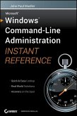 Windows Command Line Administration Instant Reference (eBook, ePUB)
