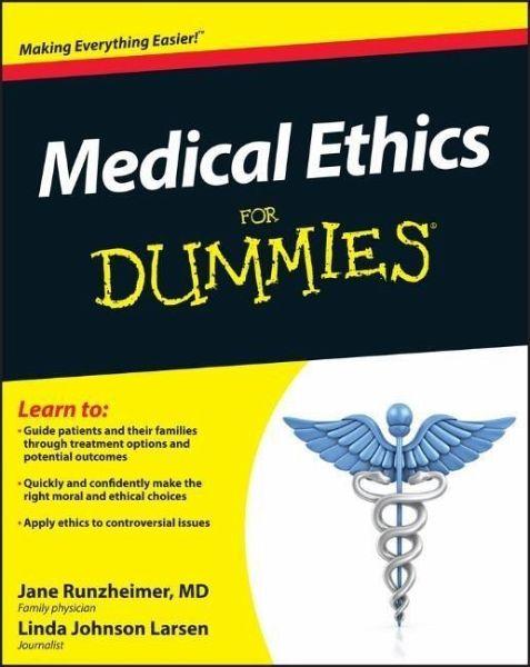 Medical Ethics For Dummies Ebook Pdf Von Jane Runzheimer Linda