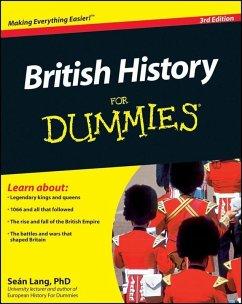 British History For Dummies (eBook, ePUB) - Lang, Seán