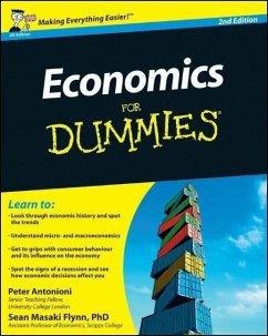 Economics For Dummies, UK Edition (eBook, ePUB) - Antonioni, Peter; Flynn, Sean Masaki