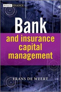 Bank and Insurance Capital Management (eBook, ePUB) - De Weert, Frans