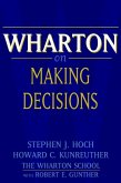 Wharton on Making Decisions (eBook, PDF)