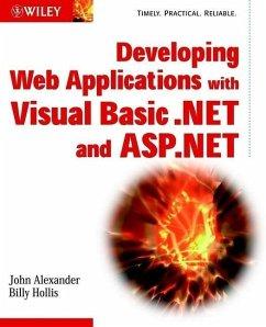 Developing Web Applications with Visual Basic.NET and ASP.NET (eBook, PDF) - Alexander, John; Hollis, Billy