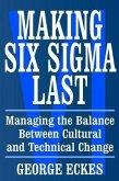 Making Six Sigma Last (eBook, PDF)