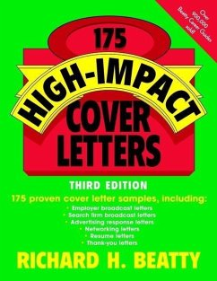 175 High-Impact Cover Letters (eBook, PDF) - Beatty, Richard H.