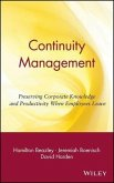 Continuity Management (eBook, PDF)