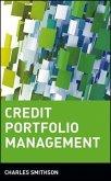 Credit Portfolio Management (eBook, PDF)