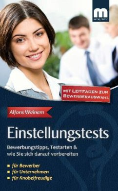 Einstellungstests - Weinem, Alfons