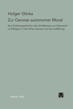 Zur Genese autonomer Moral