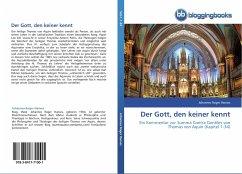 Der Gott, den keiner kennt - Hanses, Johannes Roger