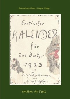 Mitja Leytho Erotischer Kalender 1923