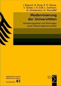 Modernisierung der Universitäten
