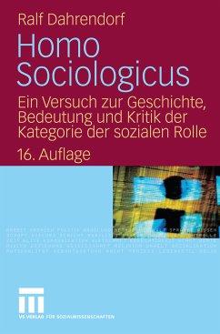 Homo Sociologicus (eBook, PDF) - Dahrendorf, Ralf
