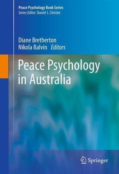 Peace Psychology in Australia (eBook, PDF)
