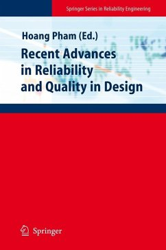Recent Advances in Reliability and Quality in Design (eBook, PDF)