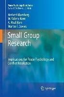 Small Group Research (eBook, PDF) - Blumberg, Herbert; Kent, M. Valerie; Hare, A. Paul; Davies, Martin F.