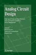 Analog Circuit Design (eBook, PDF)