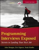 Programming Interviews Exposed (eBook, ePUB)