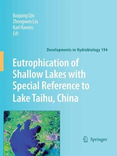 Eutrophication of Shallow Lakes with Special Reference to Lake Taihu, China (eBook, PDF)