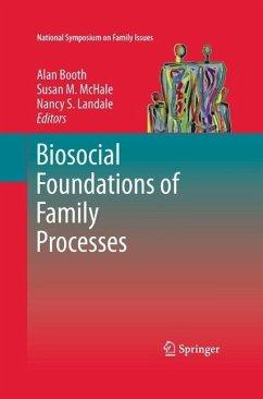 Biosocial Foundations of Family Processes (eBook, PDF)