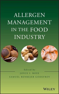Allergen Management in the Food Industry (eBook, ePUB) - Boye, Joyce I.; Godefroy, Samuel Benrejeb