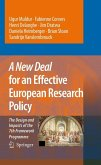 A New Deal for an Effective European Research Policy (eBook, PDF)
