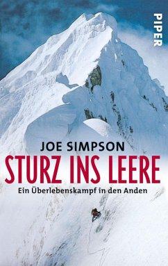 Sturz ins Leere (eBook, ePUB) - Simpson, Joe