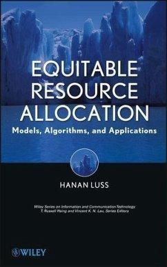Equitable Resource Allocation (eBook, ePUB) - Luss, Hanan