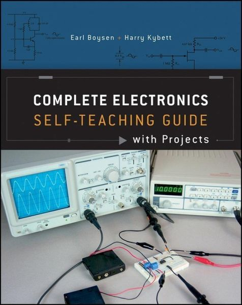 Complete Electronics Self-Teaching Guide with Projects (eBook, PDF ...