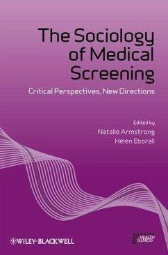 The Sociology of Medical Screening (eBook, PDF)