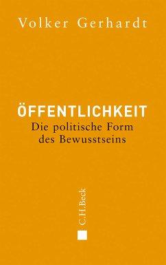 Öffentlichkeit (eBook, ePUB) - Gerhardt, Volker